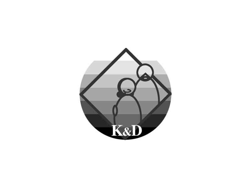 K&D Beer Cap Logo