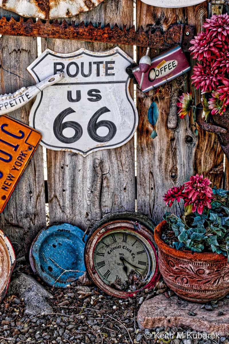 Route 66 Art Shot