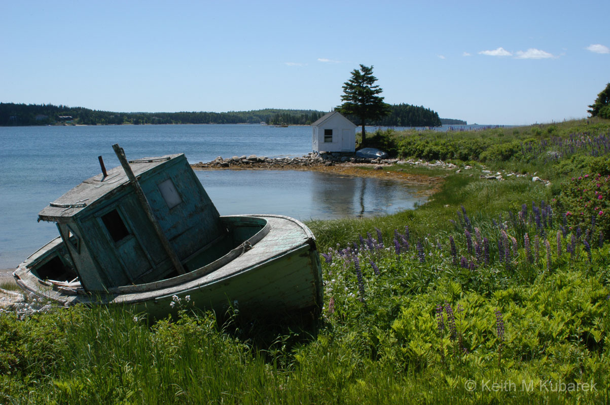 Nova Scotia Old Boat