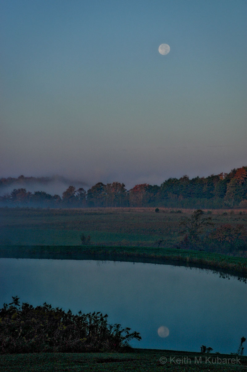 Early Morning Full Moon #1